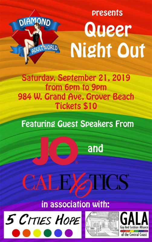 Queer Night Out Flyer